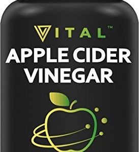 Extra Strength Apple Cider Vinegar Pills – All Natural Weight Loss, Detox, Digestion & Circulation Support – Powerful 500mg Cleanser, Premium-Non-GMO Cider Capsules