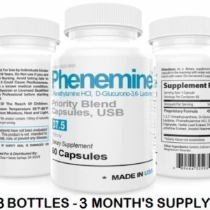 3CT Phenemine Rapid Appetite Suppressant Slim Diet Pills