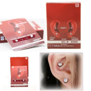 Earring Wearing Weight Loss Slimming Natural Organization Without Dieting Care Tool Drop Ship