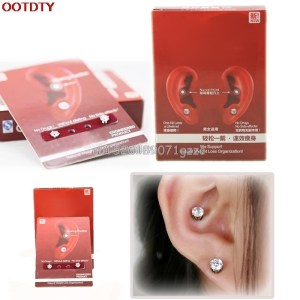 Earring Wearing Weight Loss Slimming Natural Organization Without Dieting #H027#