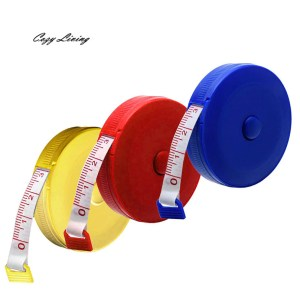Sewing Ruler Random Color Retractable Tape Measure Sewing Dieting Tapeline Ruler Tiny Tool Sewing Supplies Wholesale D15