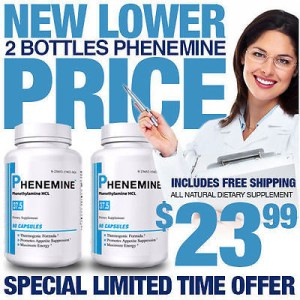 2 Phenemine Quick Appetite Suppressant Diet Pills That work for Men and Women