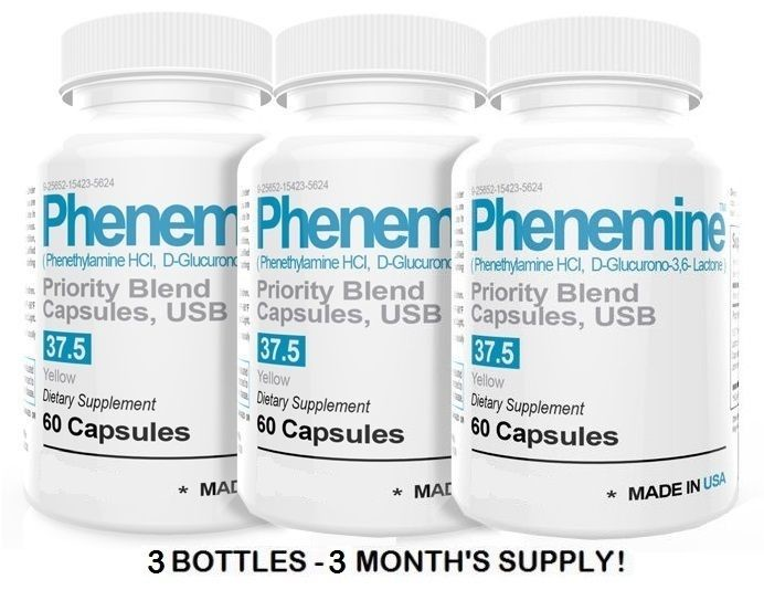 Phenemine 3CT Rapid Fast Weight Loss Strong Best Diet Pills That Work