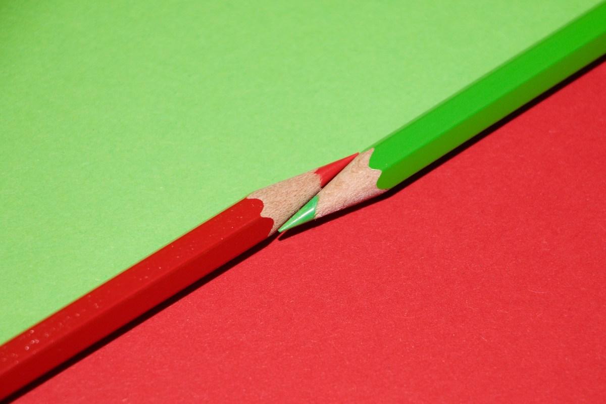 Rode en groene gedachten
