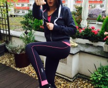 Julia macht Sport-mit Venice Beach