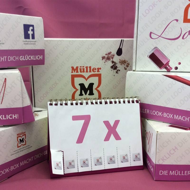 müller look box gewinnen