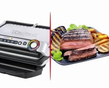 Der Tefal GC702 OptiGrill 2000 Watt – Der Steak Test + Video