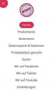 App für Blog