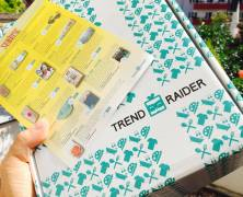 "Die Trendraider Box August 2016 ""Sunrise"""