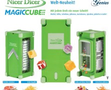 Der Nicer Dicer Magic Cube – Gewinne bei uns die Weltneuheit!