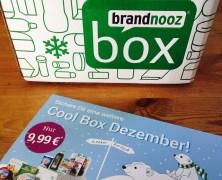 Die Brandnooz Cool Box Dezember