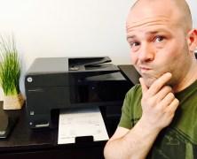 Mein Drucker frisst mir die Haare vom Kopf!