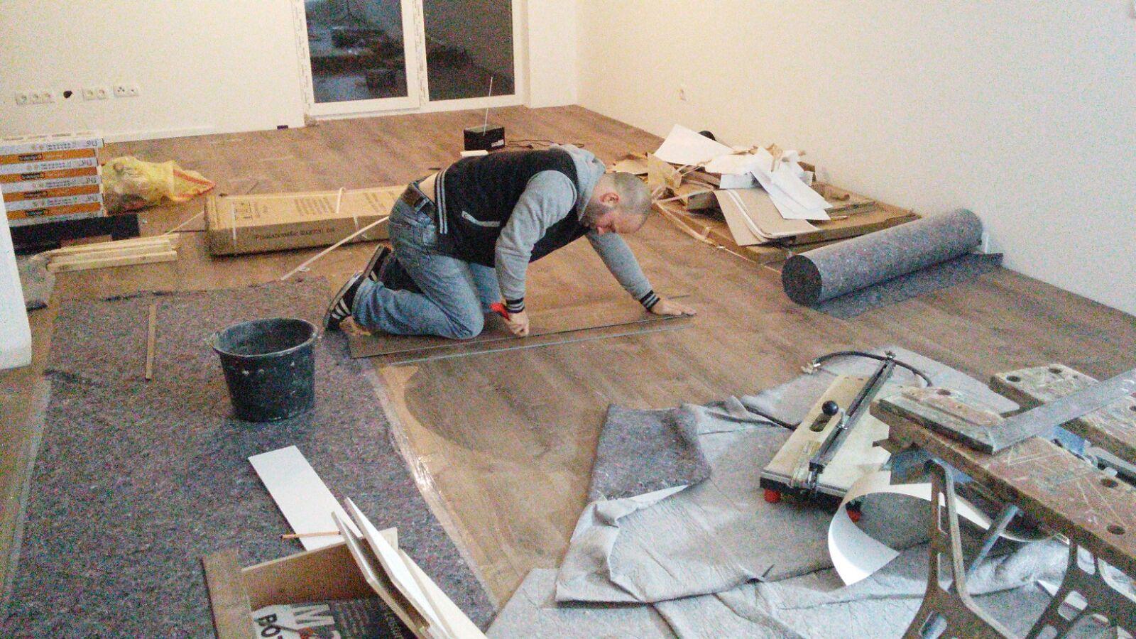 Fußboden Aus Schallplatten ~ Ein boden für das ganze haus vinylboden test diewarentester