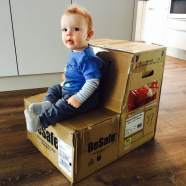 Das Baby wird zum Kleinkind – Babyschale adé, Kindersitz olé! – BeSafe