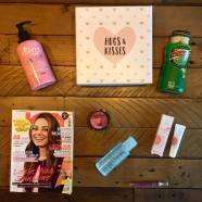 """Die Pink Box """"Hugs & Kisses""""- gewinne 1 von 10 Jahresabos!"""