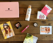Die Glossybox GRL PWR (Girl Power) im August