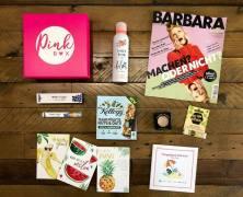 """Die Pink Box im August """"Tutti Frutti"""""""