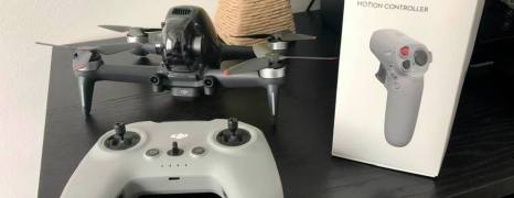 DJI FPV Motion Controller – fliegen mit Einschränkungen
