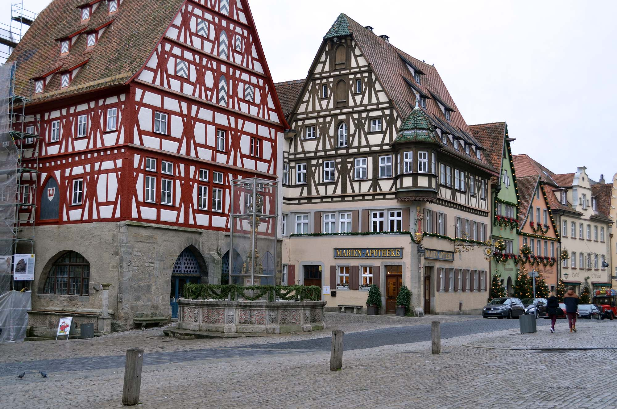 Rothenburg ob der Tauber  Die Weltenbummler