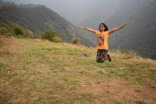 Flying high at Nagg Tibba