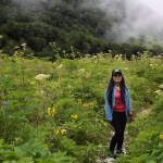 Amidst Valley of flowers