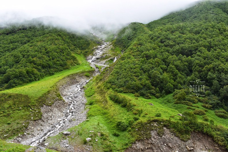 Water streams, Valley of flowers