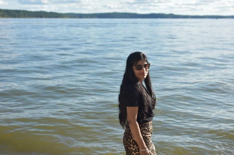 Lake Monroe in the backdrop