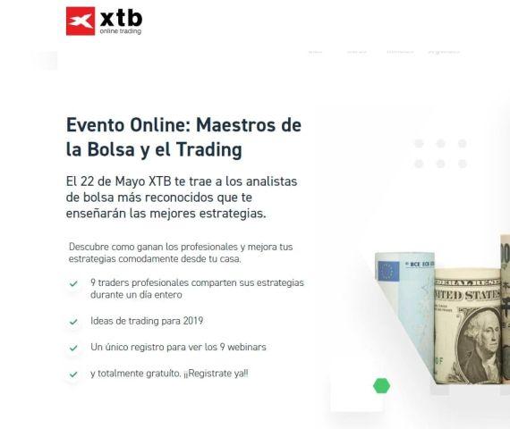 evento online gratuito maestros de la bolsa y el trading
