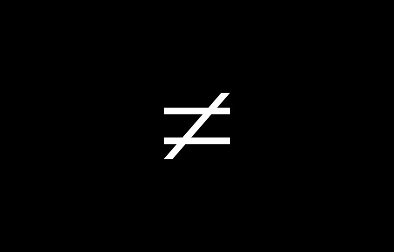 Diferente_Symbol