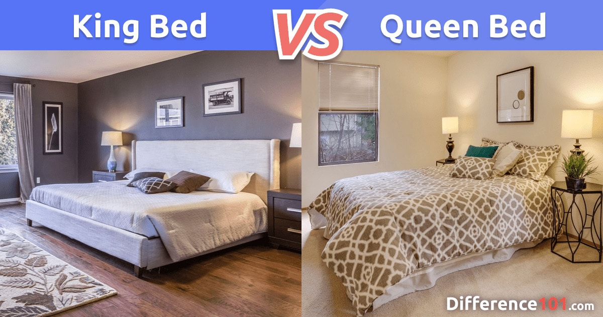 king vs queen bed difference