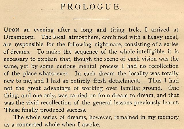 Difference Between Prologue and Preface