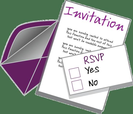 RSVP vs Invitation