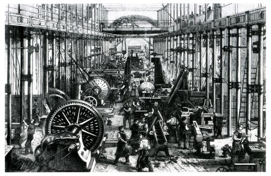 difference between 1st and 2nd industrial revolution