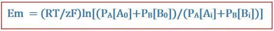 Key Difference - Nernst Equation vs Goldman Equation