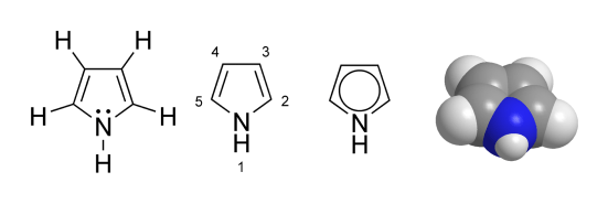 Difference Between Pyrrole Pyridine and Piperidine