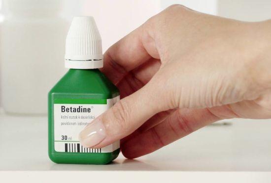 Betadine antiseptic solution