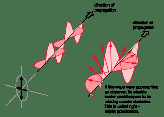 Linear vs Circular vs Elliptical Polarization