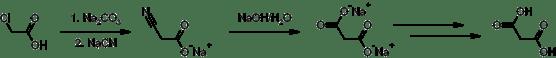 Compare Malonic Acid and Succinic Acid
