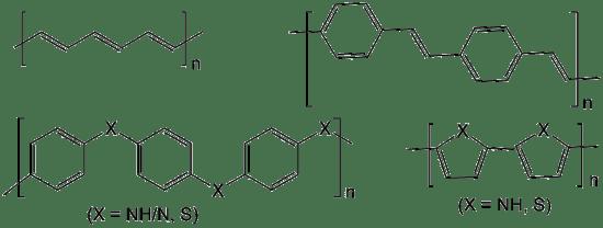 Conducting vs Non Conducting Polymers in Tabular Form