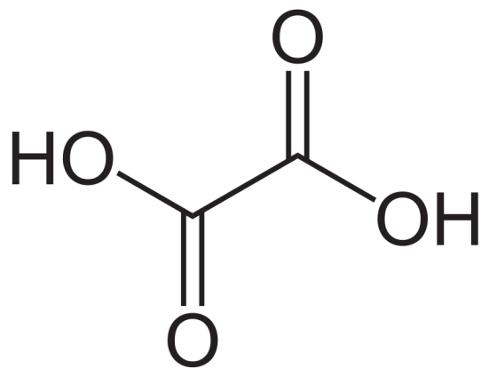 Oxalic Acid and Citric Acid -Side by Side Comparison