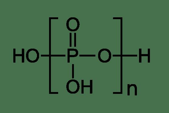 Orthophosphate vs Polyphosphate in Tabular Form