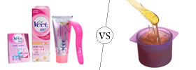 hair removal cream difference between descriptive analysis and parisons
