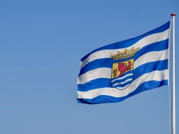 Le drapeau de la Zélande
