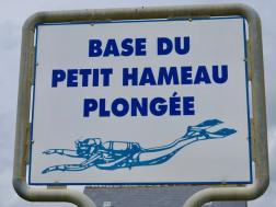 La base du petit Hameau comme départ pour plonger en Normandie