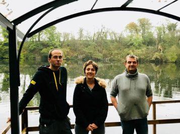 Emmanuel, Hélène et Vincent