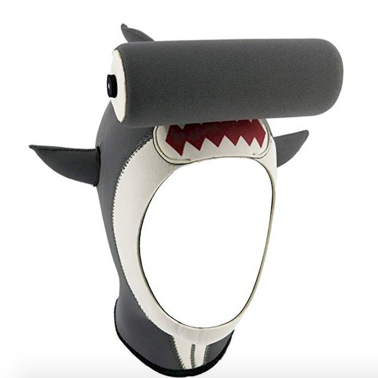 Dans les cadeaux personnalisés, cette cagoule requin vous donnera surement un look très différent