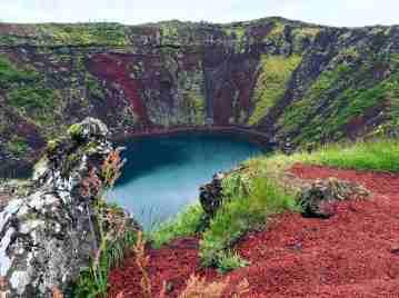 Le volcan Kerio en Islande