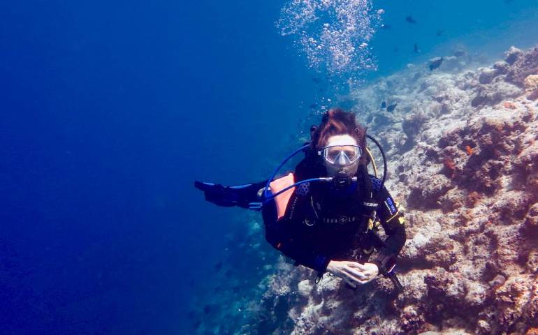 Diving, when you are lucky