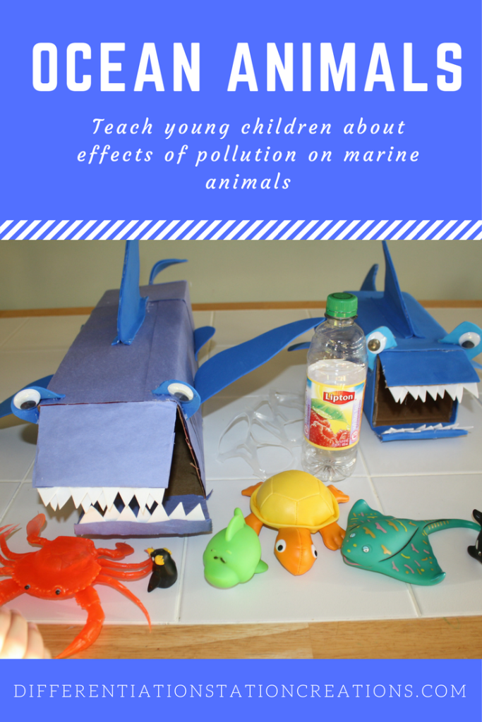 Pollution effects animals in the ocean. Teach young children about effects of pollution on marine animals in a hands-on way