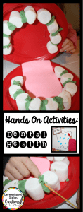 Hands On Activities: Dental Health. Tons of ideas to add to your unit on teeth and dental health. Fun!